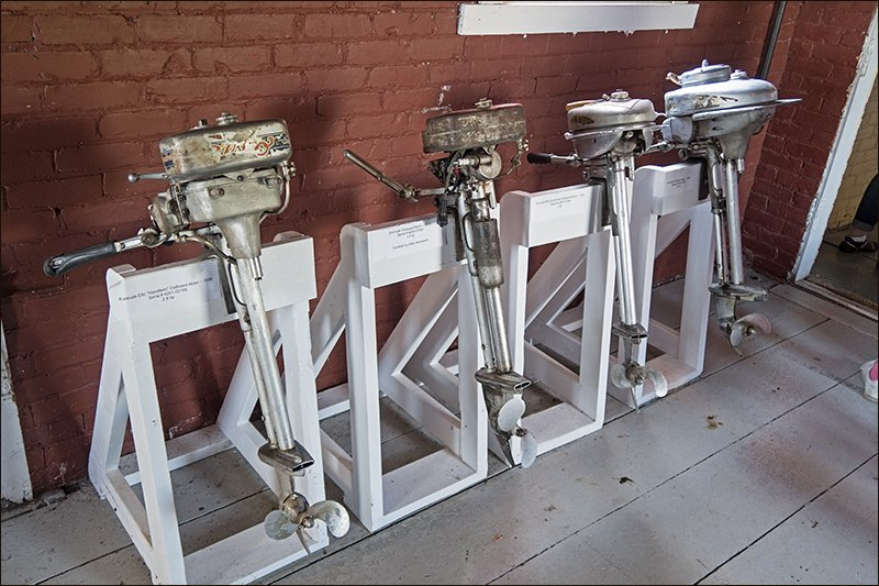 Early Evinrude Outboard Motors