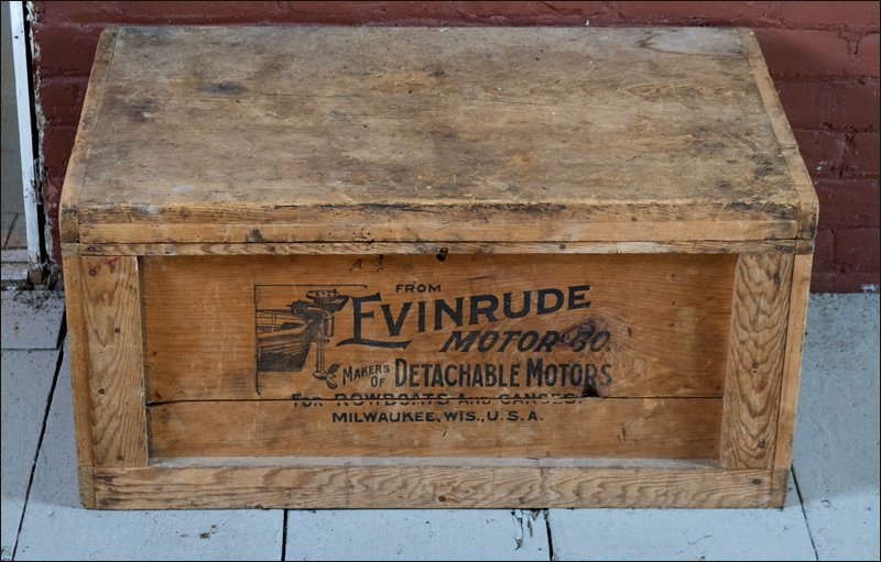Evinrude Shipping Crate