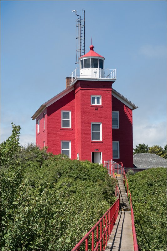 Marquette Harbor Lighthouse - North View