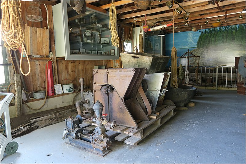 Boat House Museum Exhibits