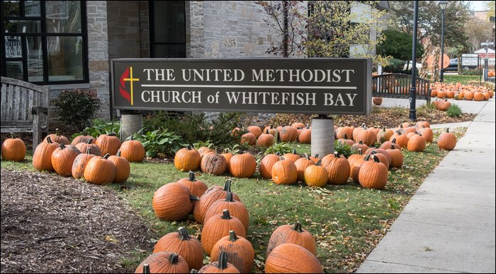 Whitefish Bay UMC in October