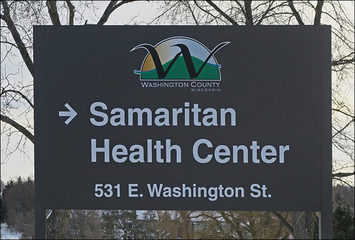 Samaritan Health Center Sign