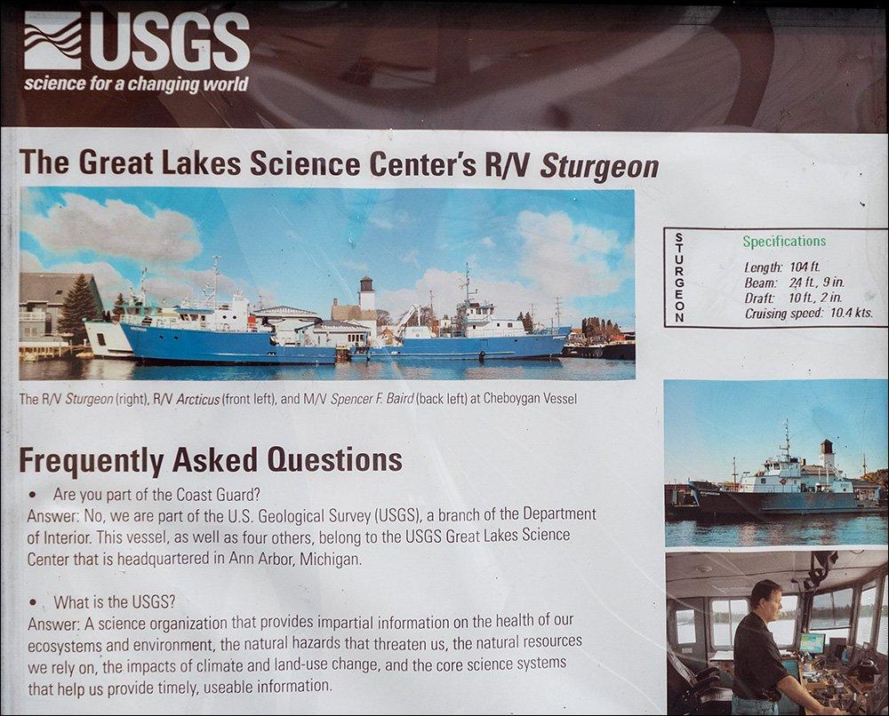 USGS Research Vessel Sturgeon