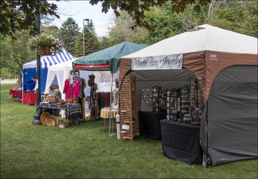 More vendor booths