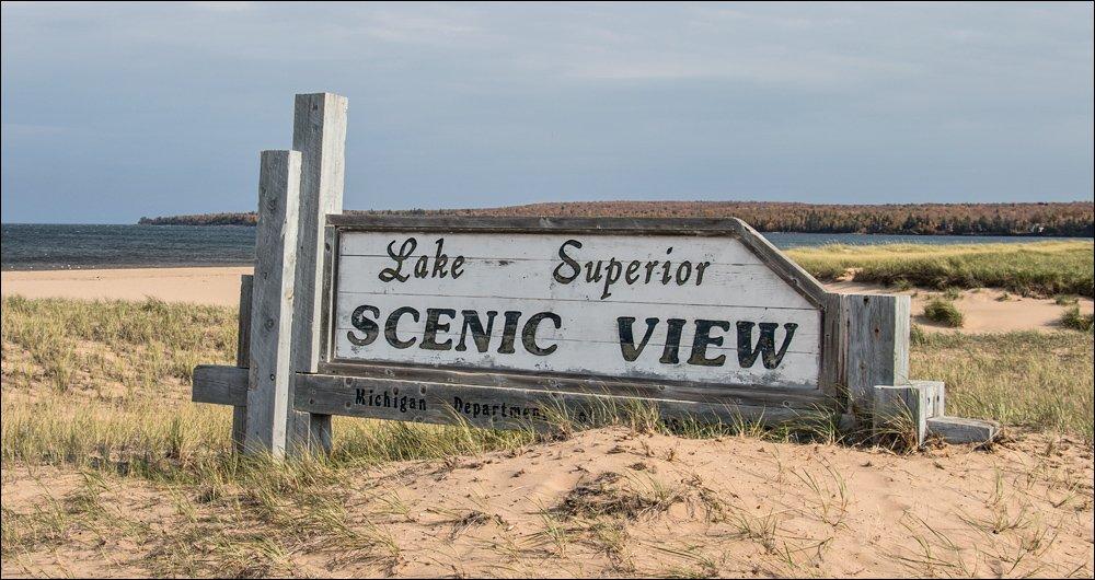 Lake Superior Scenic View - AuTrain, MI