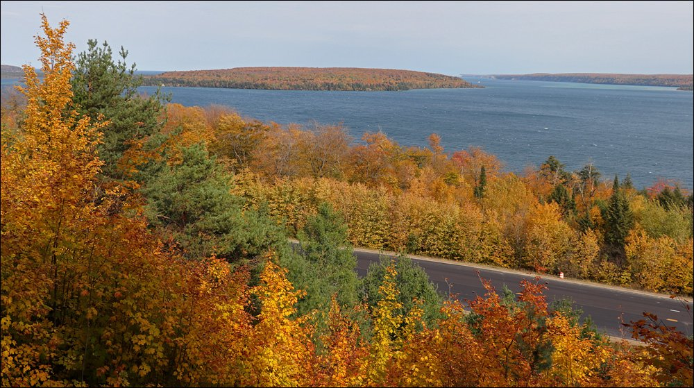 Grand Island Harbor Overlook - Munising, MI