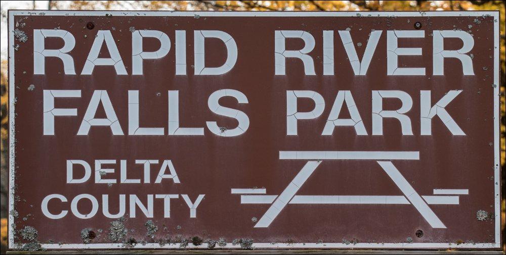 Rapid River Falls