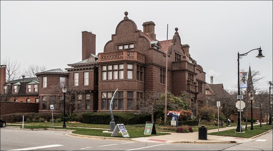 The Barker Mansion - Michigan City, Indiana