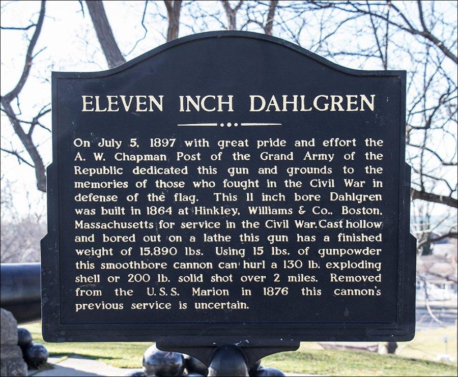"""Dahlgren 11"""" Cannon"""