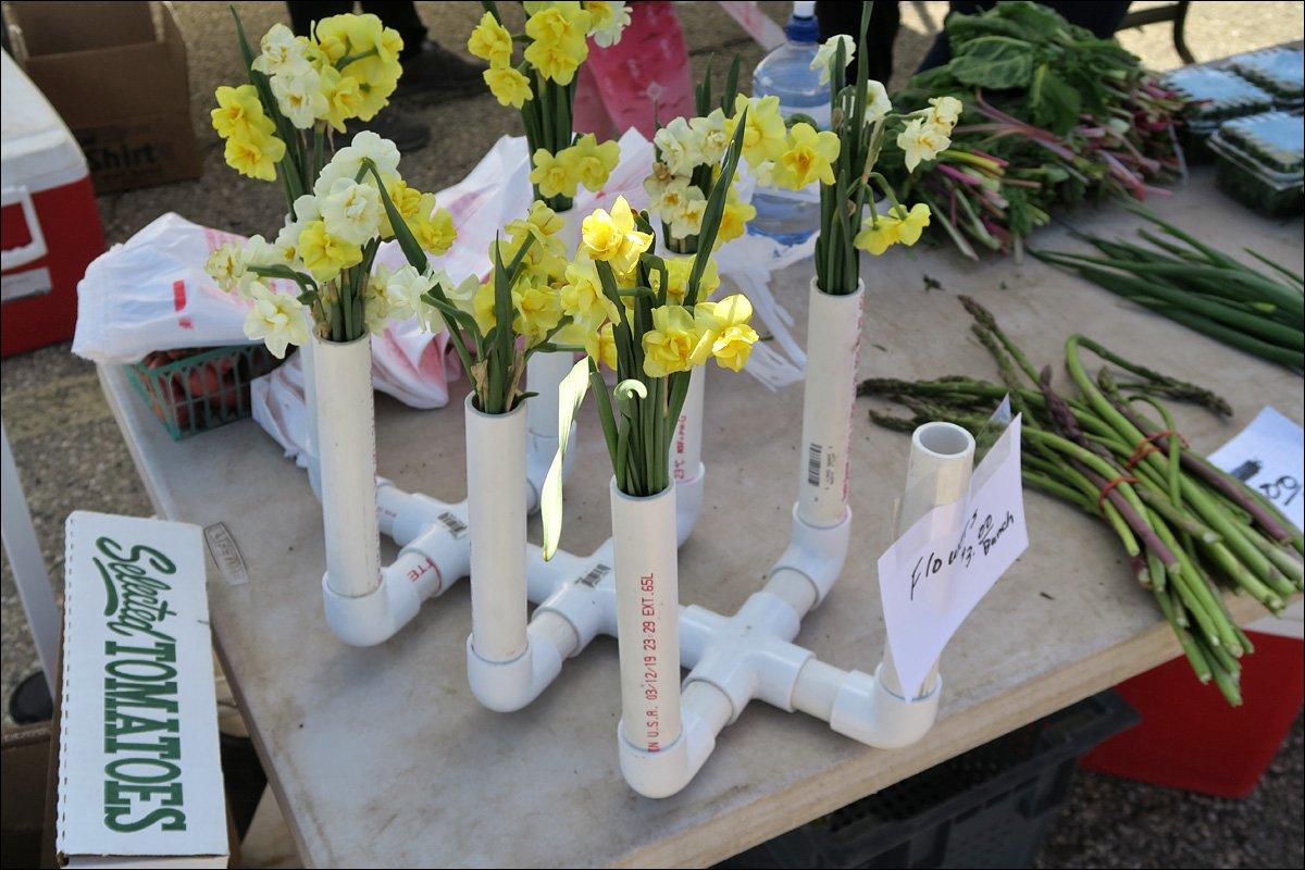 Madison Farmer's Market - PVC Vase