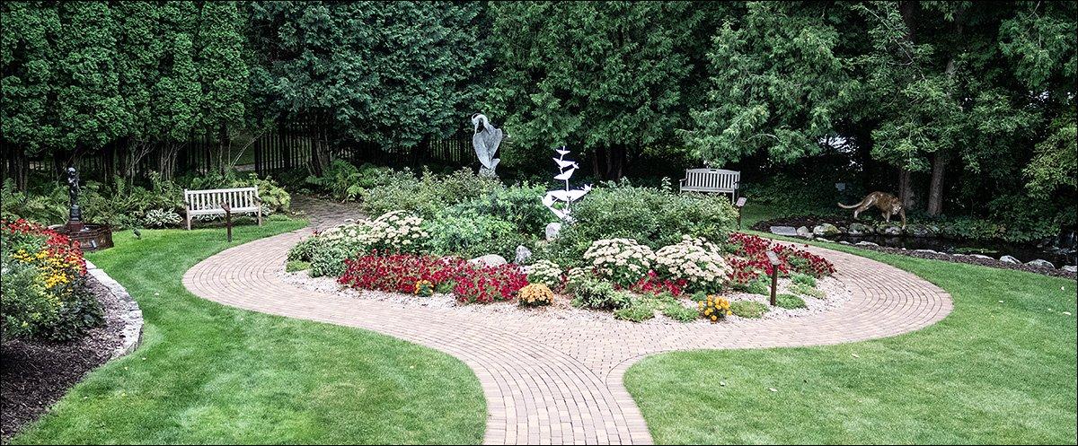 Margaret Woodson Fisher Sculpture Garden