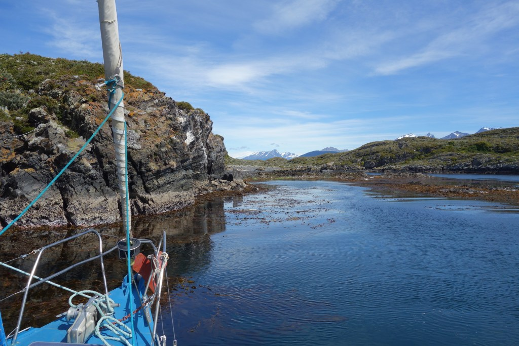 Sailing in the Beagle Channel