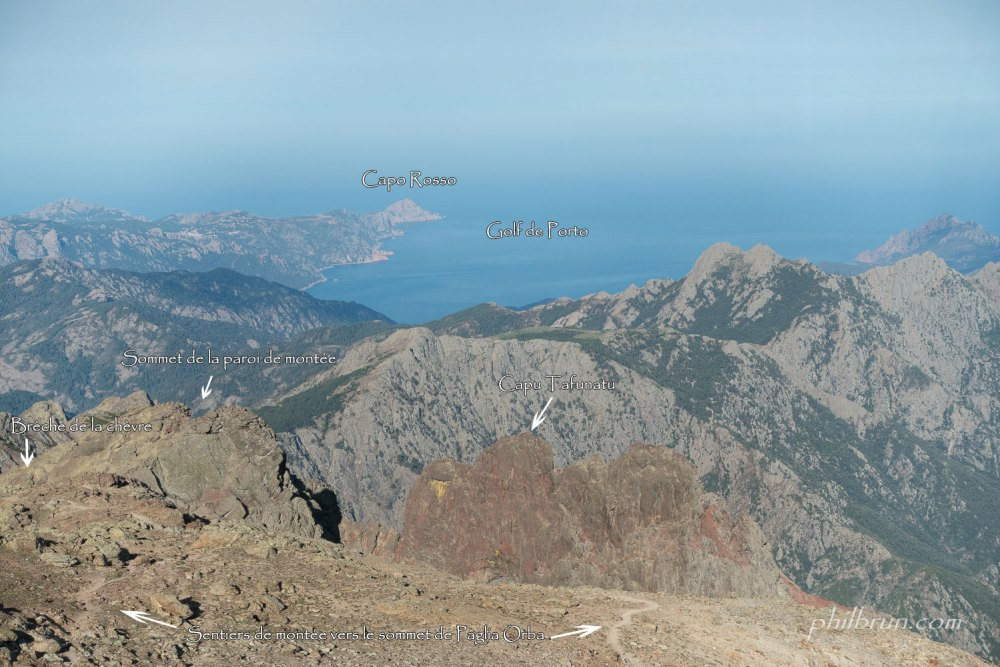 Plateau sommital de Paglia Orba