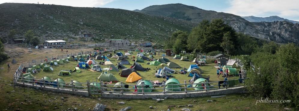 Camping au refuge de l'Onda