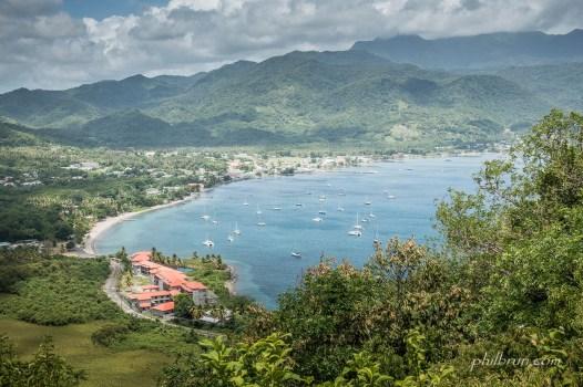 La baie de Portsmouth Dominica