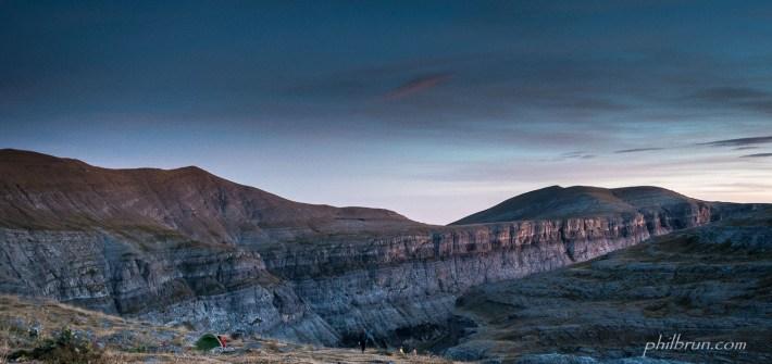 Bivouac au canyon d'Ordesa