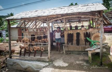 Boutique indienne de l'île Dominique