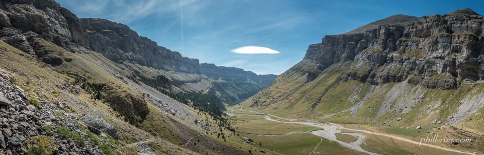 Vue sur le canyon d'Ordesa