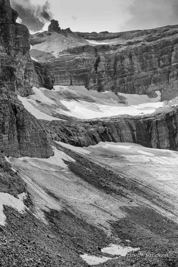 Le Doigt et le glacier du Taillon