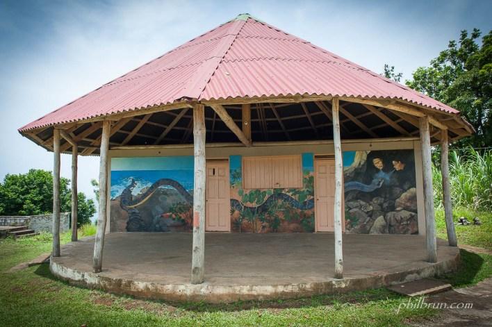 Maison des pêcheurs île Dominique