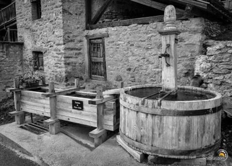 Fontaine traditionnelle de Saint Véran