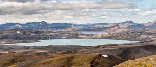 Lacs au pied du Laki