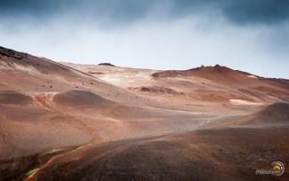Les couleurs sont somptueuses dans ces paysages étranges