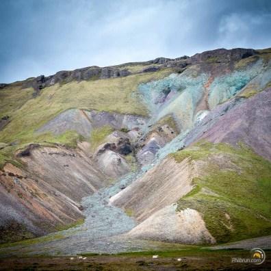 Les couleurs sont ici uniques sur l'île en allant sur Lonsoraefi