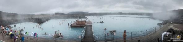 En fin de journée ces bains sont très prisés des locaux et des touristes