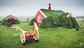 Maison en herbe Lindarbakki à BorgarFjordur eystri