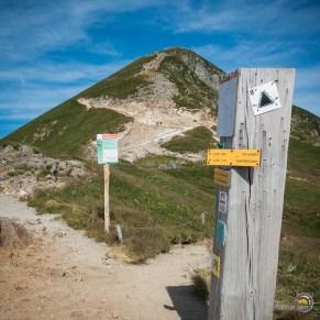 La dernière montée pour atteindre le sommet du Sancy depuis le col de la Cabane