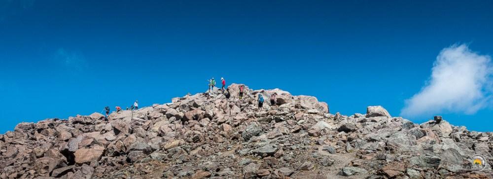 Le sommet du Monté Cinto