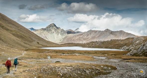 Le second lac de cette splendide descente. On est ici immergé en pleine nature et très loin de la civilisation...