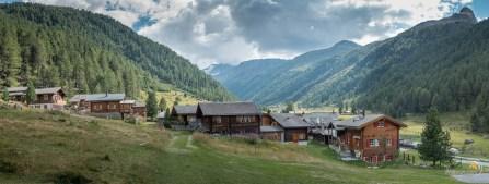 Le village de Gruben