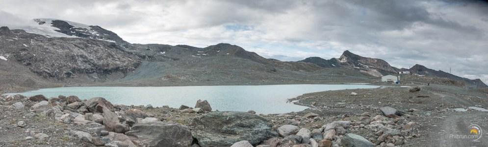 Le lac de la cime Blanche au départ de l'arrivée du téléphérique