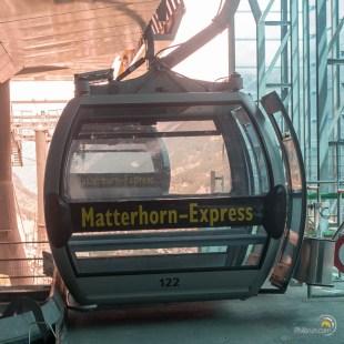 Une benne du Matterhorn express