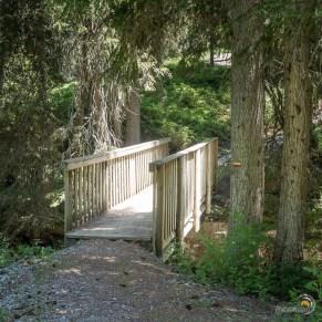 Un petit pont de bois