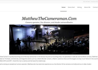 Matthew The Cameraman