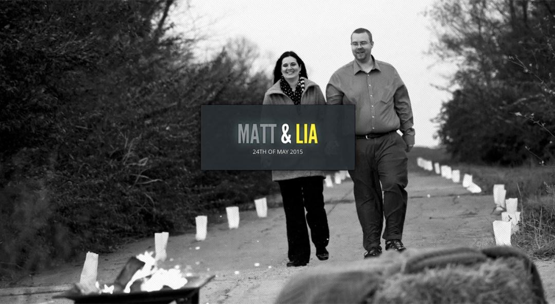Matt and Lia