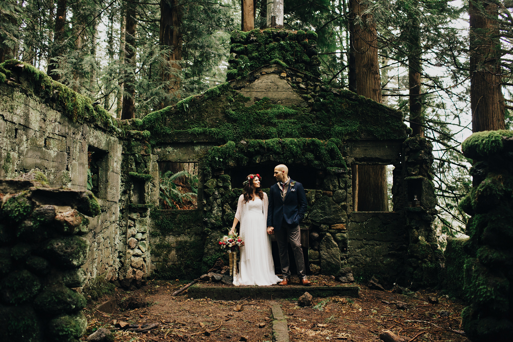Small Wedding Portland Elopement Photos