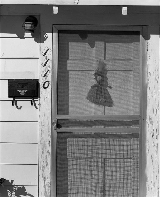 Old screened door