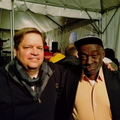 "With the great Mississippi blues legend Leo ""Bud ""Welch."