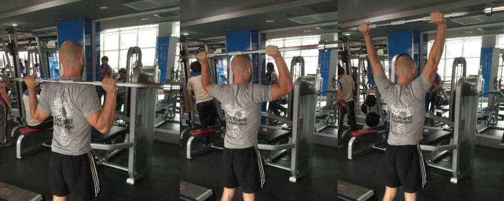 Phil Hawksworth Basic Mobility Behind The Neck Press