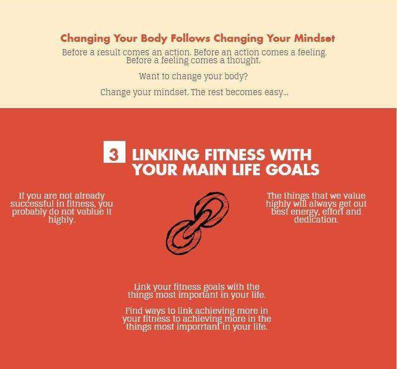 fitness mindset - link fitness with your main life goals
