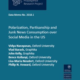 Polarization, Partisanship and Junk News Consumption over Social Media in the US