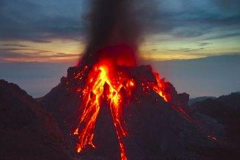 volcano erupting soon
