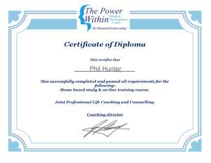CPD Accredited Joint Life Coaching and Counselling Diploma -Certificate-1
