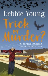 Trick or Murder? Cover - author Debbie Young