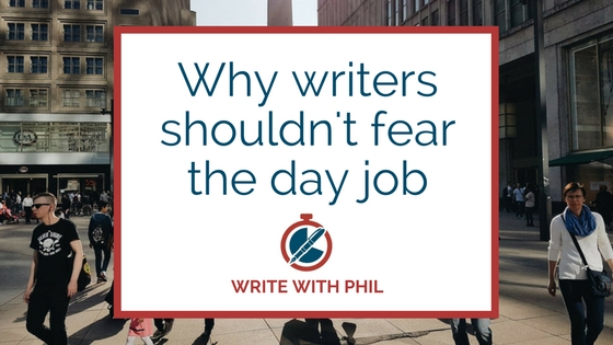 Why writers shouldn't fear the day job header image
