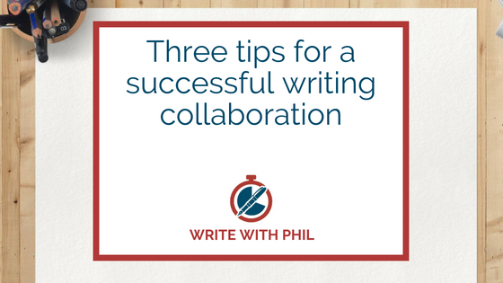 Three tips for a successful writing collaboration header